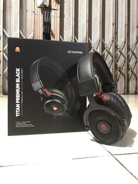Borongan Headset Gaming DA 7.1 & Stik Rexus GX2