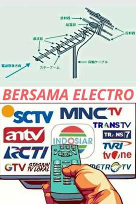Teknisi Tukang Pemasangan Sinyal Antena TV Murah