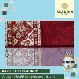 Ready Karpet Masjid Platinum Free Pasang & Survey