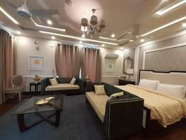 1kanal full furnished house for rent in DHA phase 6 on Daily basis