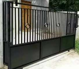 jasa pembuatan pintu pagar pekanbaru.