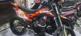 Kawasaki klx  l  sby  pjk  hidup  cash / kridit  dan tkr tambah