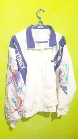 Jaket klasik vintage yonex winning touch