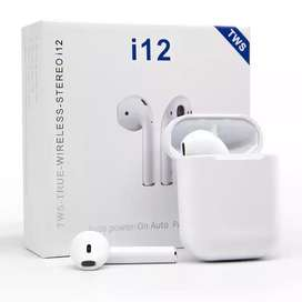 New I12 earbuds with Touch control. New product not Secondhand.