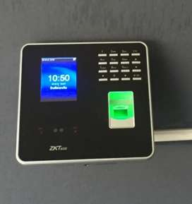 Face id iface eye scan fingerprint time attendance machine model B7
