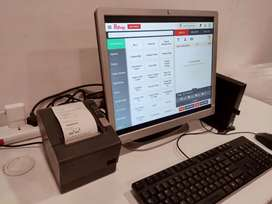 POWERFUL POS BILLING MACHINE FOR RESTAURANT, MEDICAL & GROCERY STORE