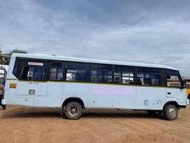 eicher staff bus