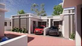 Dijual rumah baru sisa 7 unit cluster pintu air residence leuwigajah
