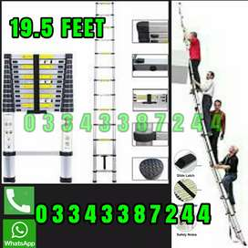 BUNGLOW OUTDOOR USED LADDER 19.5 FEET