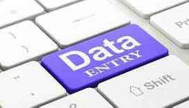 Data entry job part time work home based typing job online work