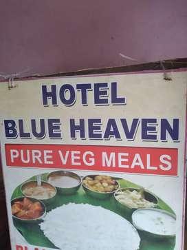 Hotel order water & cook helper urgent requer