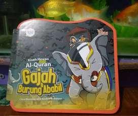 Buku Anak Islami Spongebook Gajah & burung ababil