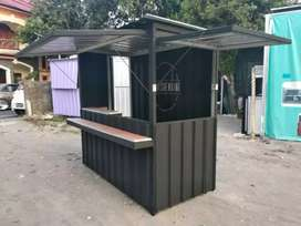 Container stand / Booth desain bintang 5 harga kaki lima
