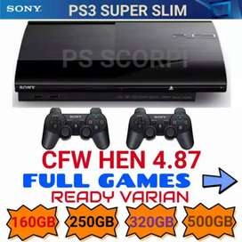 Ps3 Slim 320Gb 25xxx