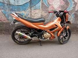 Suzuki satria Fu th 2010 mulus komplit