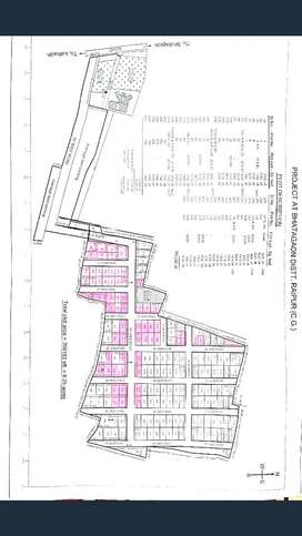 Plots Available in 15/- Per Sqft Monthely Instalment