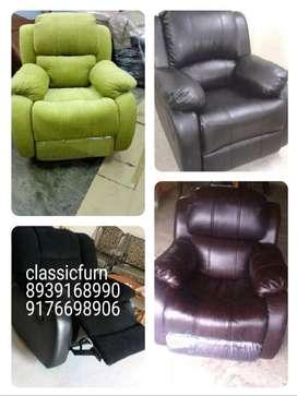 brand new manual recliner sofa