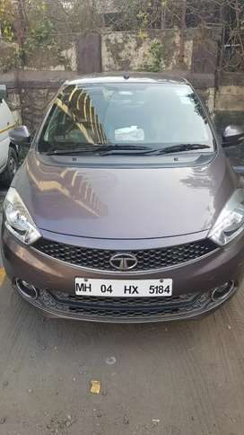 Tata tiago XZ CNG brown