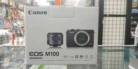 Kamera Mirrorless Canon EOS M100 kit 15-45 IS STM