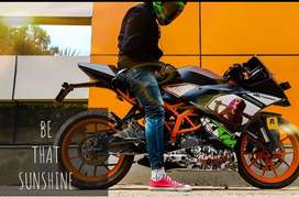 KTM RC 390 very well maintained