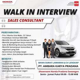 Dibutuhkan sales marketing mobil