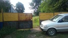Tanah dan gudang workshop dijual/disewakan