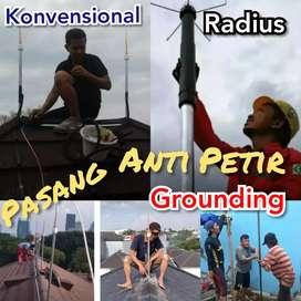Proyek Pemasangan Penangkal Petir Wilayah Kalimantan Timur