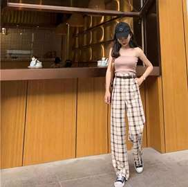 Celana Haight waist korea modern
