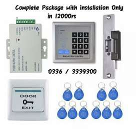 RFID CARDS & PASSWORDS ACCESS CONTROL SYSTEM FOR DOOR LOCKS
