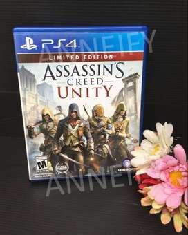 [TERMURAH] Kaset BD Game PS4 Assassins Creed Unity English