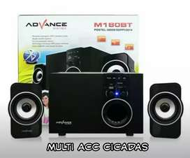 sp advan baru, blutut,radio,usb,aux,bass