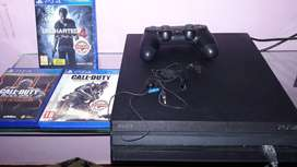 PS4 PRO 1TB+ 2games. BRAND NEW CONDITION