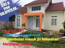 Rumah Type 100 Harga Bersahabat& Lokasi ditengah kota Jalan Rambutan