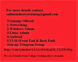 Job Oriented Training for 30 days with 100% job assistance