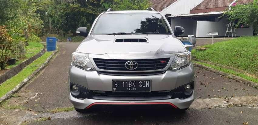 Toyota Fortuner Diesel TRD G/AT 2015
