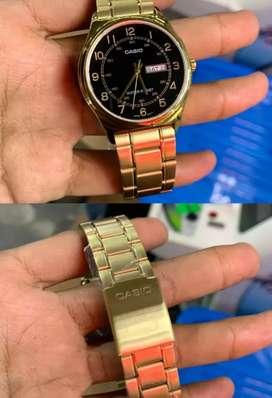 "Casio MTP-V006G-1BUDF""Black Gold""BNIB fullset"