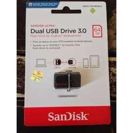 Flashdisk OTG Sandisk 64GB Dual Usb