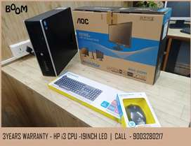 Home Delivery - Fullset Computer - Wireless WiFi - Warranty with Bill