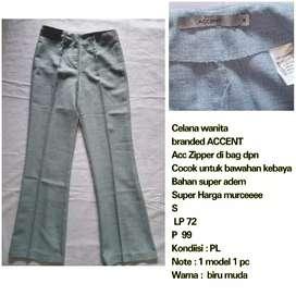 Celana bahan brand ACCENT