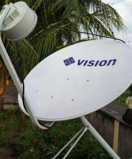 Agen pemasangan baru indovision Mnc Vision jernih hemat tahan cuaca