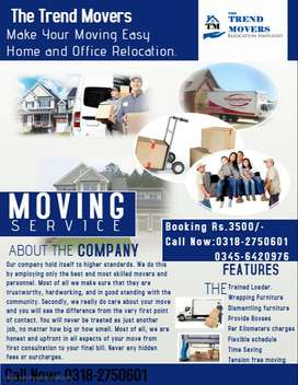 The Trend Movers (House Shifting and Office Relocation)