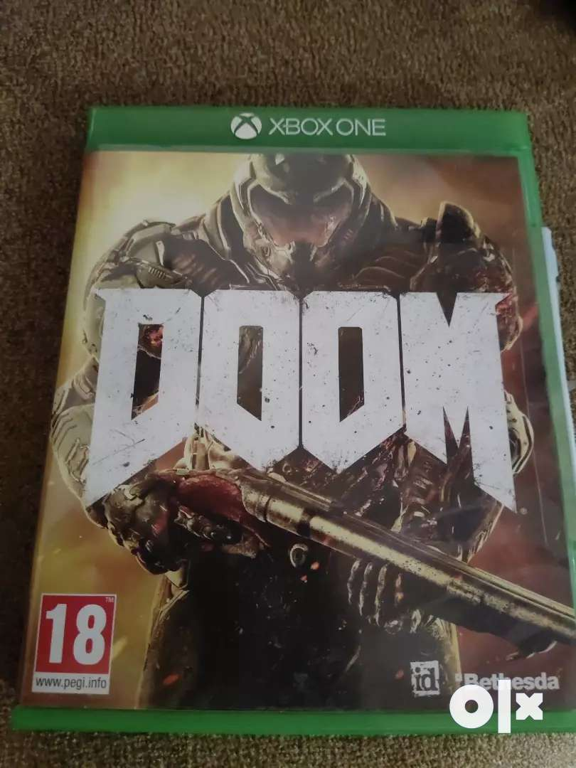 Doom XBOX one game 0