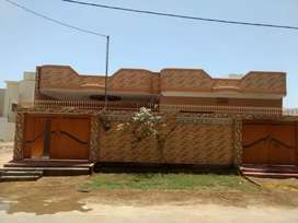 Single House for sale 3bed dd at 400y in Maymar sec y1 demand 315lacs