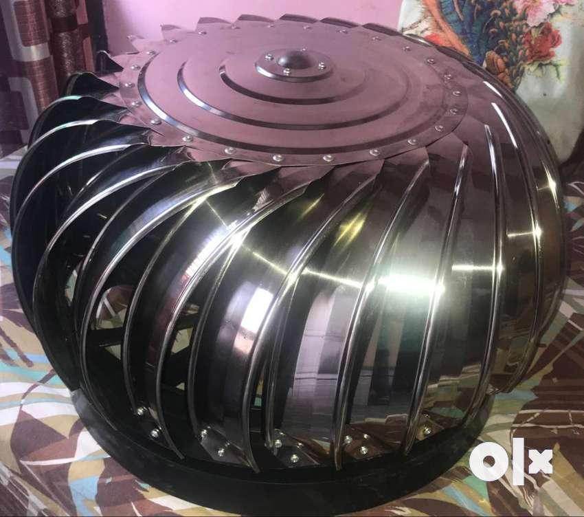 Turbo ventilator stainless Steel 24 inch