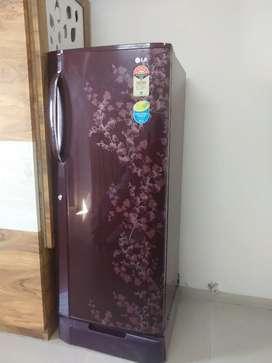 A  LG refrigerator