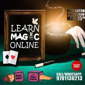 Online MAGIC course