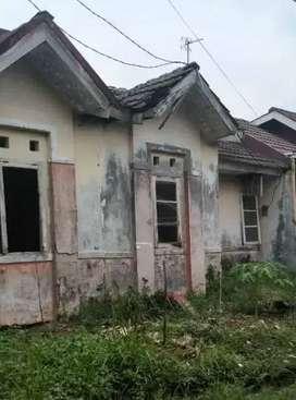 Rumah rusak cluster pohon palem citra indah city 72m2 tusuk sate