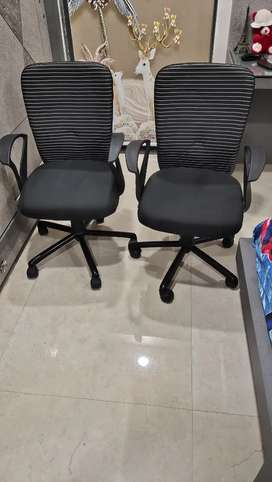 Two Revolving Chairs