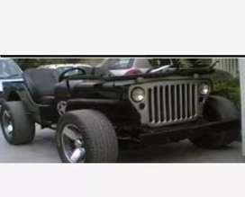 Landi black jeep