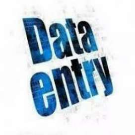 I am looking for data entry work or work from home